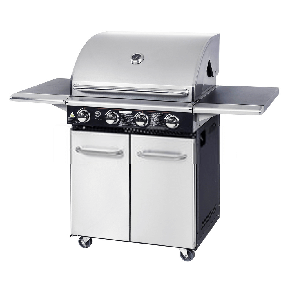 stainless-steel-infrared-grill-on-white-background